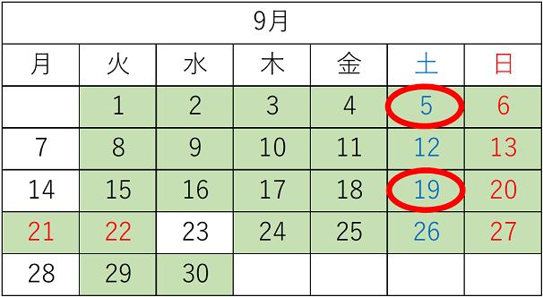 東京開催のロンドンナショナルギャラリー展♪開館日&休館日カレンダー