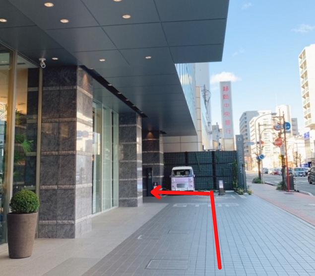 ホテルオーレイン静岡の駐車場アクセス方法2