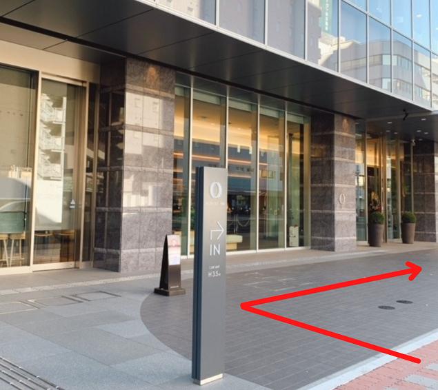 ホテルオーレイン静岡の駐車場アクセス方法1
