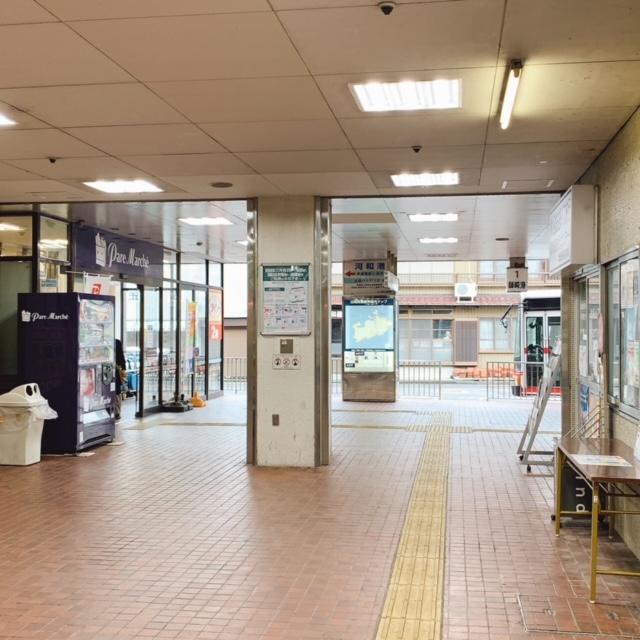 河和港から日間賀島へフェリーで行く方法。河和駅シャトルバス乗り場