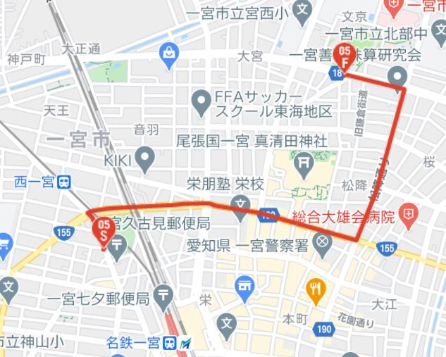愛知県一宮市の聖火リレー2021コースはどこ?ランナーは誰?